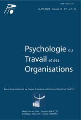 Psychologie travail et organisations