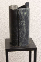 "Theo BLAICKNER, ""o.T."" - Serpentin, 50 x 25 cm"