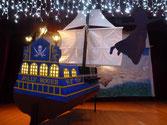 """Soirée """"Peter Pan et le Capitaine Crochet"""", la mise en place (15/12/16)"""