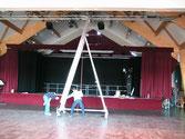 """""""Tourn'en dansant"""", la mise en place (01/02/09)"""