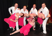 Démonstrations de Tango et de Salsa au déjeuner des anciens de Tournan (08/12/13)