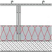 Deckenaufbauten mit Einblasdämmung