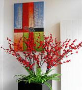 chinesischer Blumenschmuck