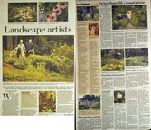 Landscape design, Maine Sunday Telegram Stephanie Bouchard Wells Maine