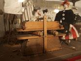 Wäscherwahrzeichen aus der Schausammlung des Bezirksmuseum Alsergrund