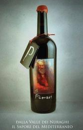 L'immagine dell'etichetta è stata realizzata dal ceramista e pittore  Elio Pulli