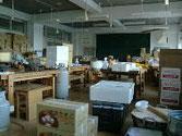 歌津中学の台所