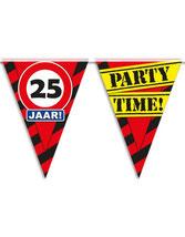 Vlaggenlijn Party 25 jaar! € 2,50