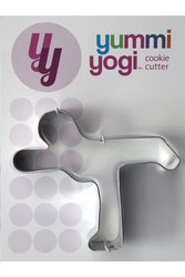 "YUMMI YOGI - AUSSTECHFORM ""WARRIOR 3 POSE - VIRABHADRASANA III"" COOKIE CUTTER"