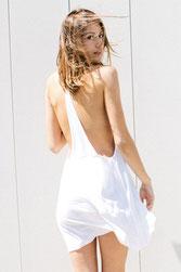 """JOAH BROWN – TANK TOP """"FREE ME DRESS"""" WHITE"""