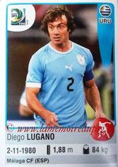 N° 168 - Diego LUGANO (2011-13, PSG > 2013, Uruguay)