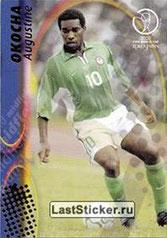 N° 082 - Augustine OKOCHA (1998-02, PSG > 2002, Nigeria)