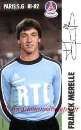 MERELLE Franck  81-82