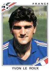 N° 170 - Yvon LE ROUX (1986, France > 1989-90, PSG)