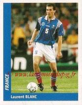 N° 124 - Laurent BLANC (1998, France > 2013-??, Entraîneur du PSG)