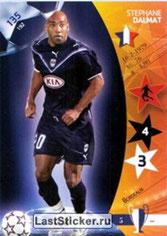 N° 135 - Stéphane DALMAT (1999-Jan 00, PSG > 2006-07, Bordeaux)