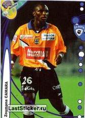 N° 022 - Zoumana CAMARA (1999-00, Bastia > 2007-??, PSG)