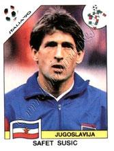 N° 280 - Safet SUSIC (1982-91, PSG > 1990, Yougoslavie)