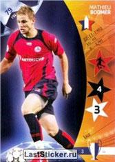 N° 079  - Mathieu BODMER (2006-07, Lille > 2010-Jan 2013, PSG)