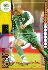 N° 073 - Bonaventure KALOU (2005-07, PSG > 2006, Cote d'Ivoire)