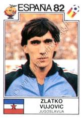 N° 323 - Zlatko VUJOVIC (1982, Yougoslavie > 1989-91, PSG)
