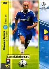 N° 165 - Nicolas ANELKA 1995-97 et 2000-02, PSG > 2008-09, Chelsea, GBR)