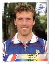 N° 160 - Laurent BLANC (1998, France > 2013-??, Entraîneur du PSG))