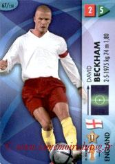 N° 067 - David BECKHAM (2006, Angleterre > Jan à Juin 2013, PSG)