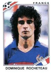 N° 177 - Dominique ROCHETEAU (1980-88, PSG > 1986, France))