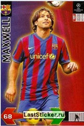 N° 093  - MAXWELL (2009-10, Barcelone, ESP > Jan 2012-??, PSG)