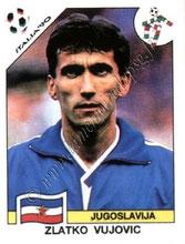 N° 282 - Zlatko VUJOVIC (1989-91, PSG > 1990, Yougoslavie)