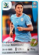 N° 182 - Cristian RODRIGUEZ (2005-Aout 2007, PSG > 2013, Uruguay)