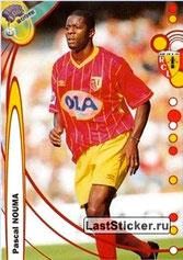 N° 069 - Pascal NOUMA (1988-92 et 1994-96, PSG > 1999-00, Lens)