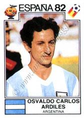 N° 175 - Oswaldo ARDILES (1982, Argentine > juil à Déc 1982, PSG)