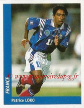 N° 136 - Patrice LOKO (1995-Nov 98, PSG > 1998, France)