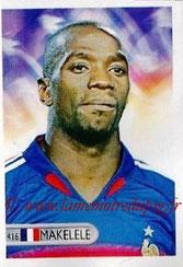 N° 416 - Claude MAKELELE (2006, France > 2008-11, PSG)
