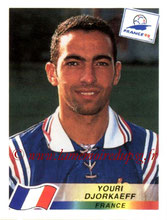 N° 168 - Youri DJORKAEFF (1995,96, PSG > 1998, France)