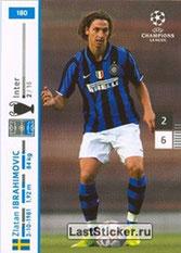 N° 180 - Zlatan IBRAHIMOVIC (2007-08, Inter Milan, ITA > 2012-??, PSG)