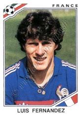 N° 172 - Luis FERNANDEZ (1978-86, PSG > 1986, France)