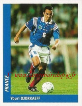 N° 134 - Youri DJORKAEFF (1995,96, PSG > 1998, France)