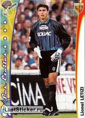 N° 102 - Lionel LETIZI (1999-00, Metz > 2000-06, PSG)
