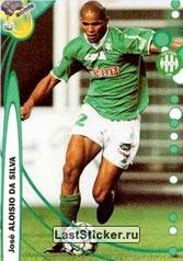 N° 208 - Jose ALOISIO (1999-00, Saint-Etienne > 2001-03, PSG)