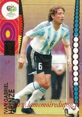 N° 043 - Gabriel HEINZE (2001-04, PSG > 2006, Argentine)
