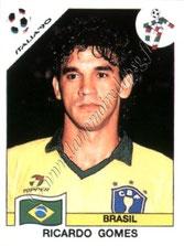 N° 197 - RICARDO (1990, Brésil > 1991-95, PSG puis 1996-98, Entraîneur PSG)