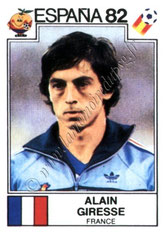 N° 285 - Alain GIRESSE (1982, France > Juin à Août 1998, Entraîneur PSG)