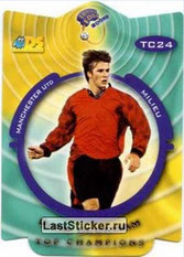 N° TC24 - David BECKHAM (1999-00, Manchester United, ANG > Jan à Juin 2013, PSG)