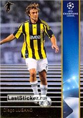 N° 097 - Diego LUGANO (2008-09, Fenerbahçe, TUR > 2011-Jan 12, PSG) (Silver Card)