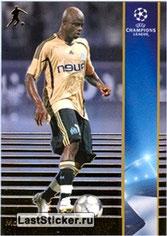 N° 147 - Modeste M'BAMI (2003-06, PSG > 2008-09, Marseille) (Silver Card)