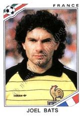 N° 166 - Joël BATS (1985-92, PSG > 1986, France)