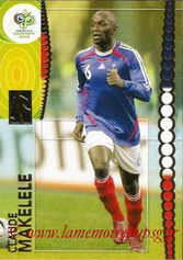 N° 104 - Claude MAKELELE (2006, France > 2008-11, PSG)